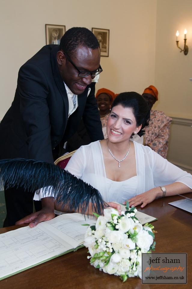 Farzaneh and Damilola's Wedding